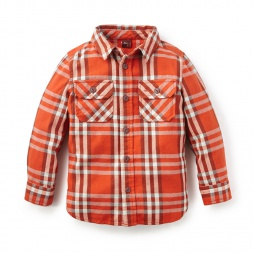Nevado Queva Flannel Shirt | Tea Collection