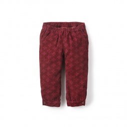 Jujuy Corduroy Baby Pants | Tea Collection