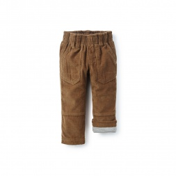 Corduroy Roll-Up Pants | Tea Collection