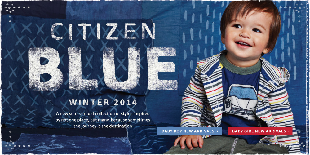 Baby Citizen Blue: A World of Style
