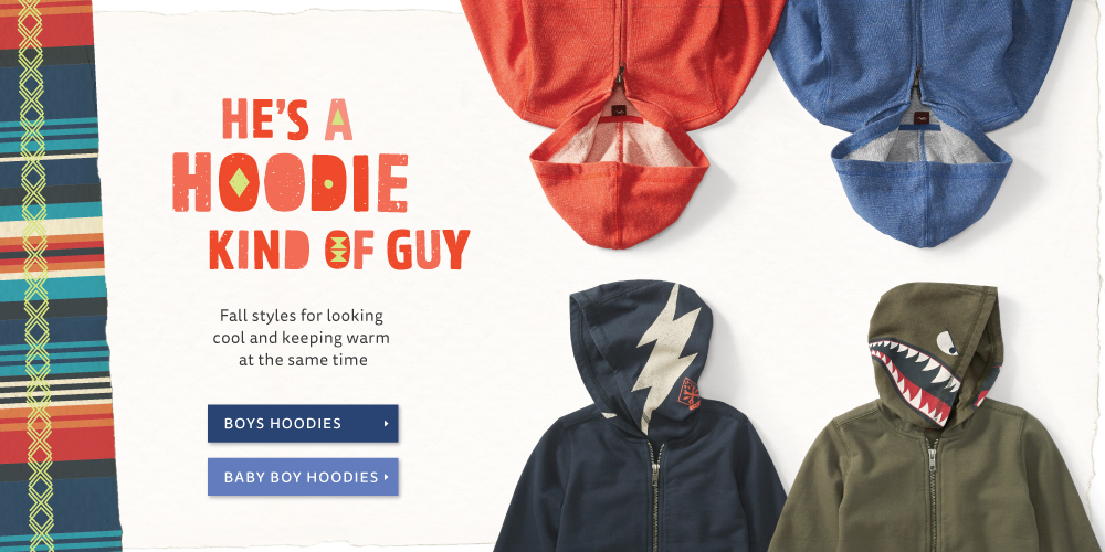 He's a Hoodie Kind of Guy