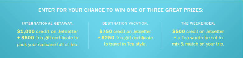 Tea Collection Nordic Giveaway Prizes