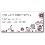 address labels gift tags eclectic vines