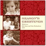flat christmas photo cards inspiring motif