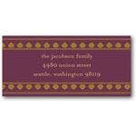 address labels gift tags antique motif