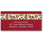 address labels gift tags folksy garden