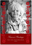 flat christmas photo cards homespun harvest