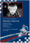 birthday party invitations cycling tour