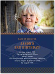 birthday party invitations moto photo