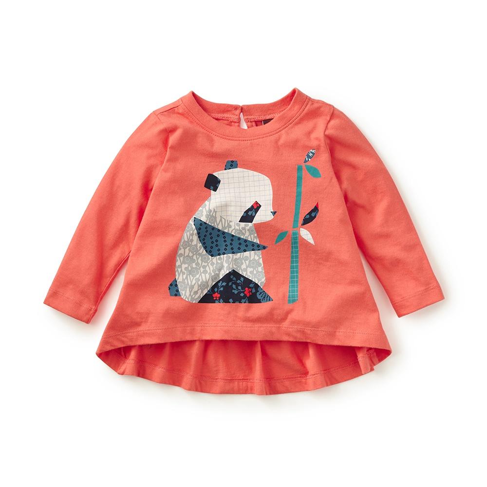 Shirt design for baby girl - Kiri E Panda Graphic Tee