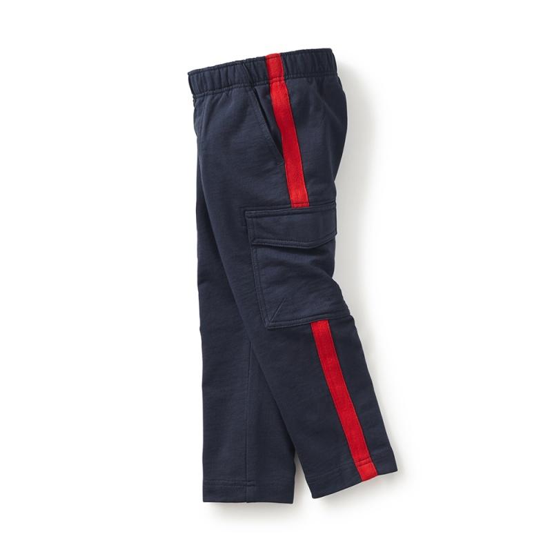 Side Stripe Cargo Pants