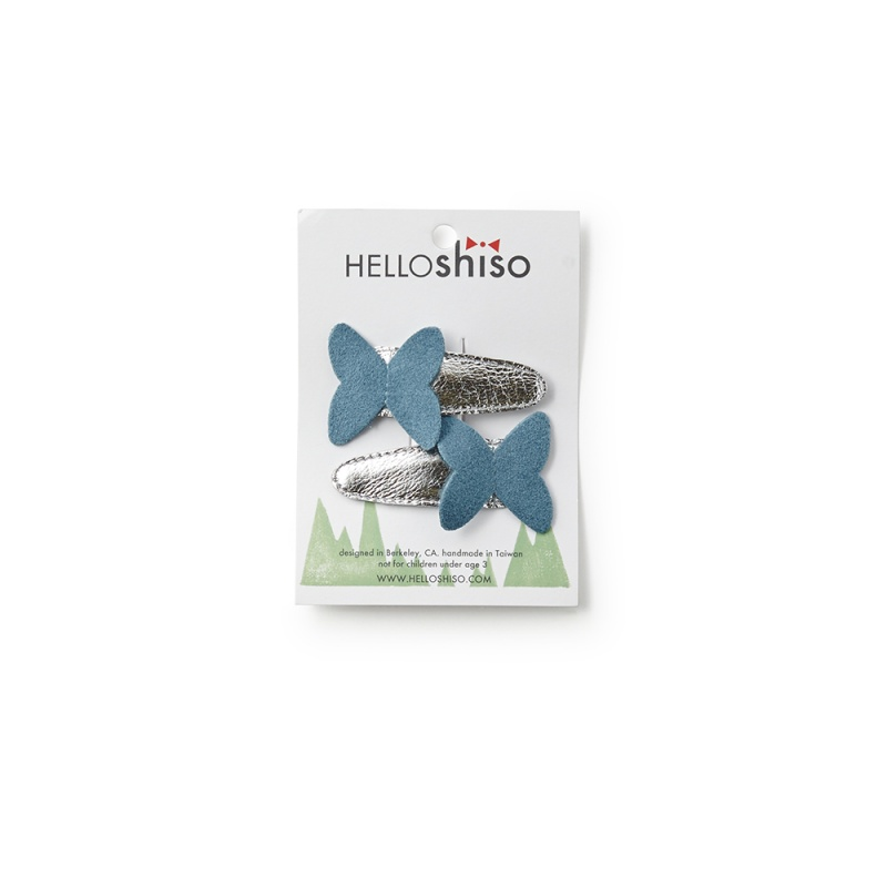 Hello Shiso Butterfly Clips