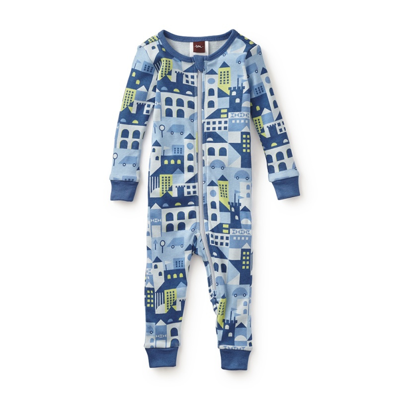 Night on the Town Baby Pajamas