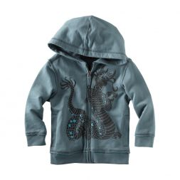 Tea Collection Growling Naga Zip Hoodie