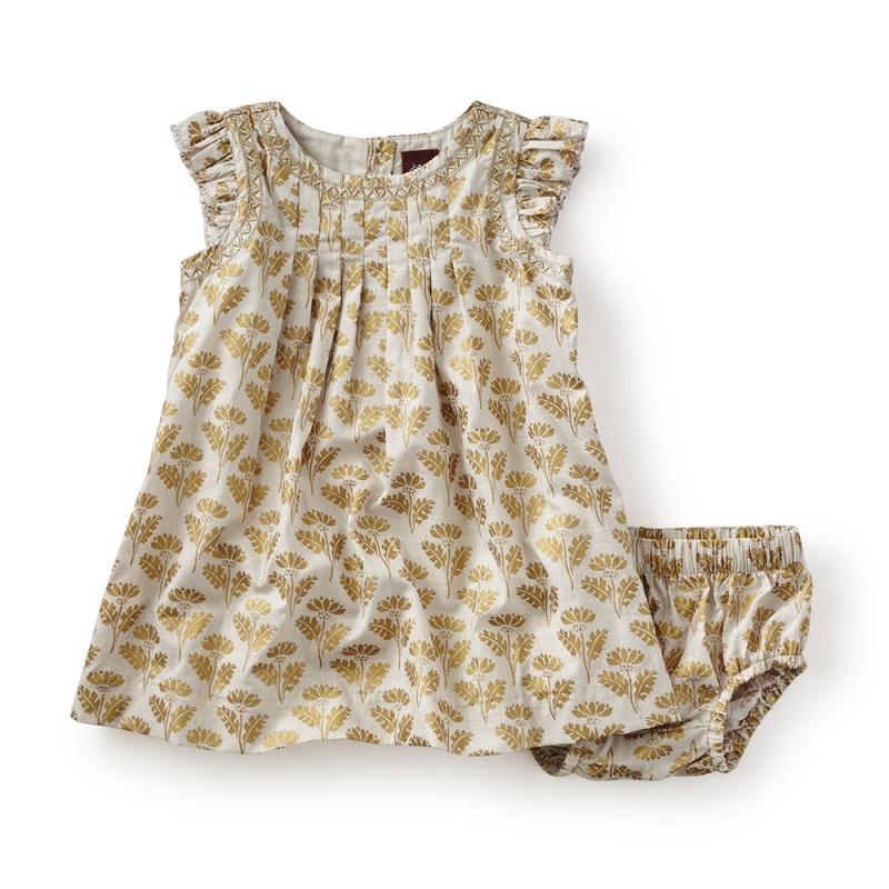 Rialto Metallic Baby Dress