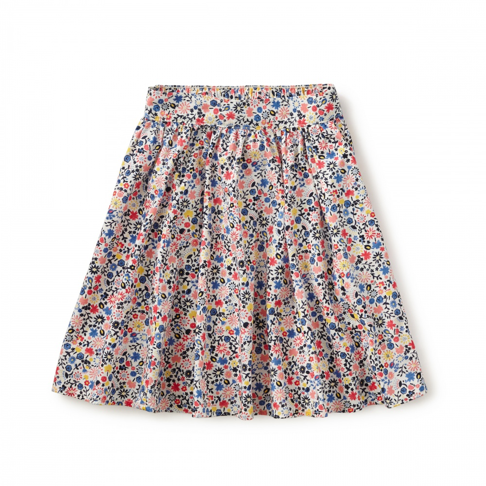 Floreale Midi Skirt