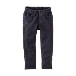 Denim Look Skinny Pants Indigo