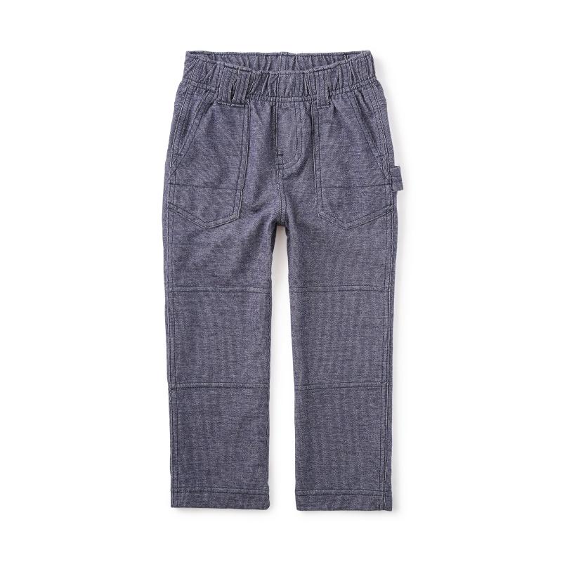 Denim Like Playwear Pants | Tea Collection