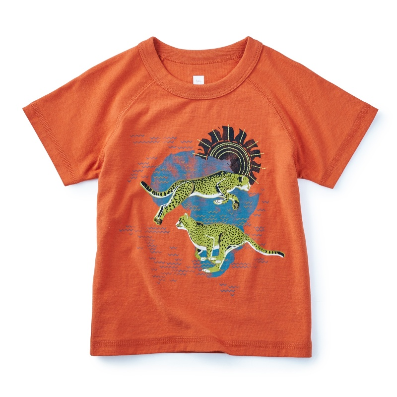 Fleeing Serengeti Graphic Tee
