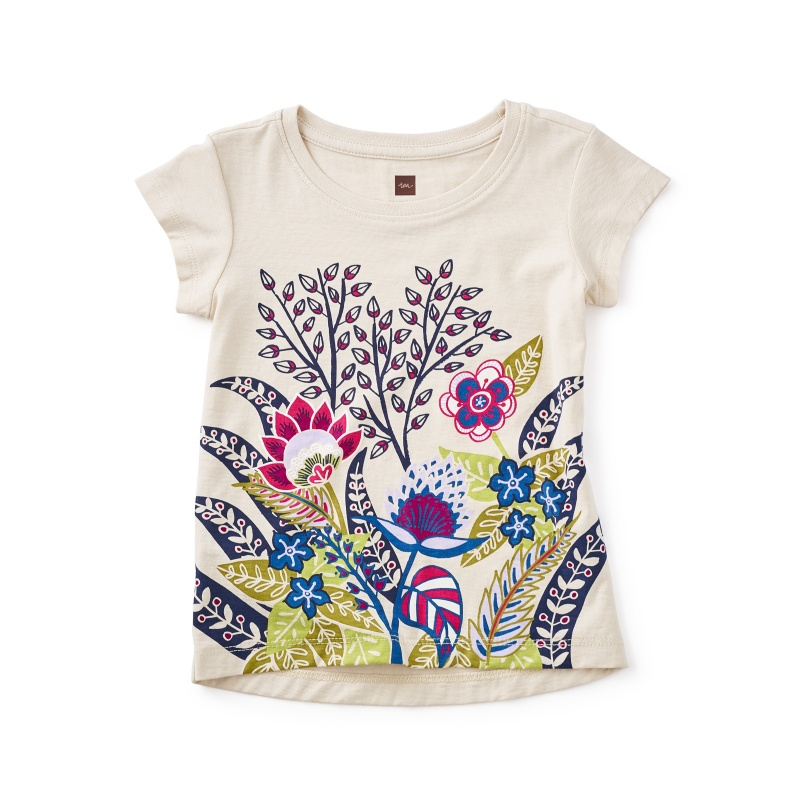 Serengeti Floral Graphic Tee