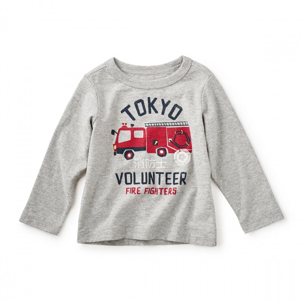 Bebi Tokyo Fire Graphic Tee