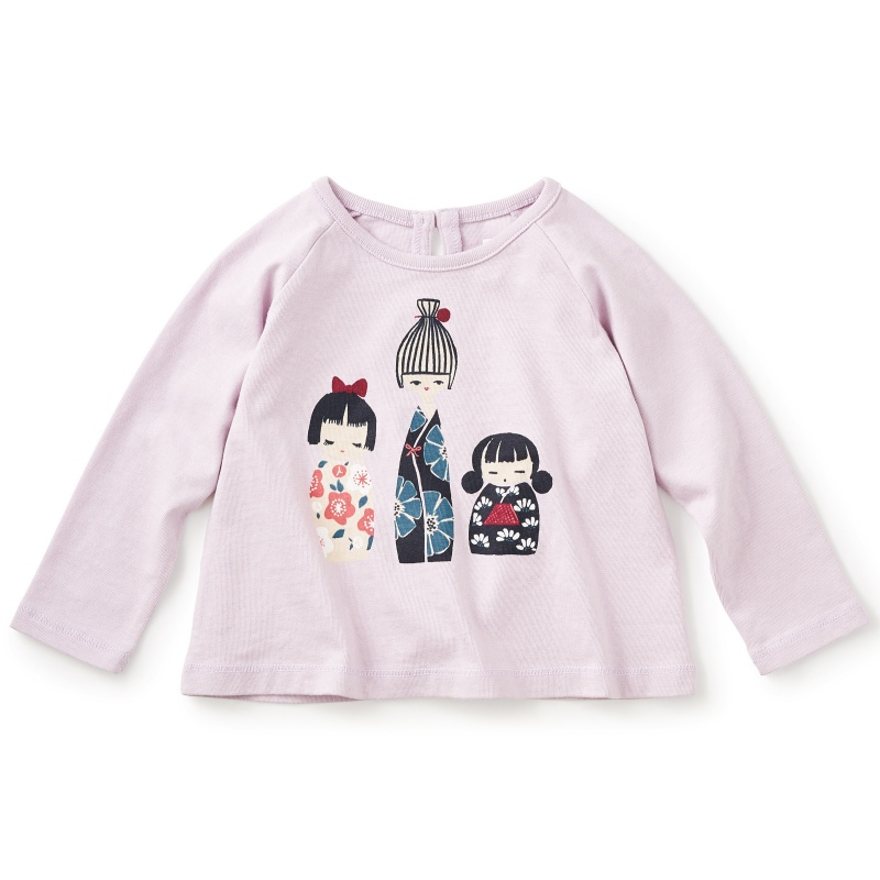 Tiny Kokeshi Graphic Tee