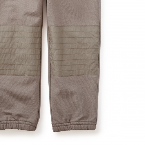 French Terry Moto Pants