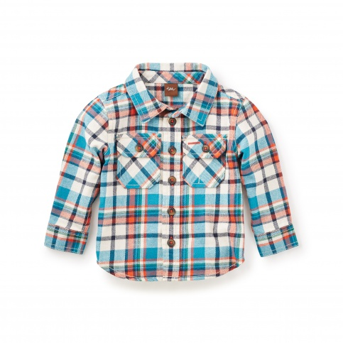 Visu Flannel Baby Shirt