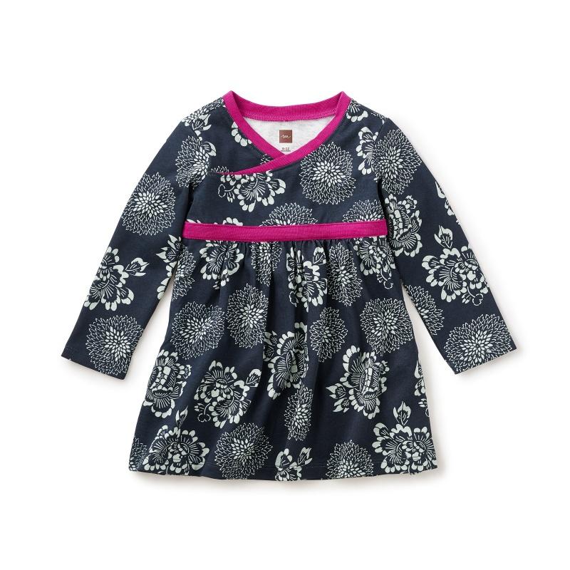 Tsuki Wrap Neck Dress
