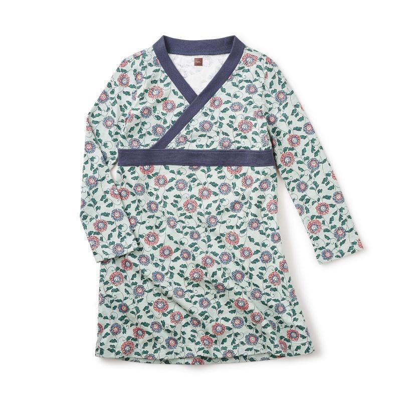 Chikyu Wrap Neck Dress