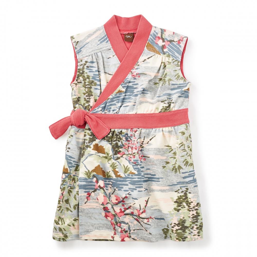 Ato Wrap Dress