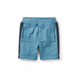 Side Stripe Baby Shorts
