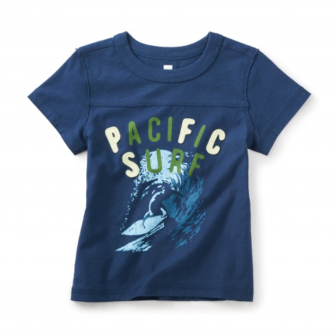 Pacific Surf Graphic Tee