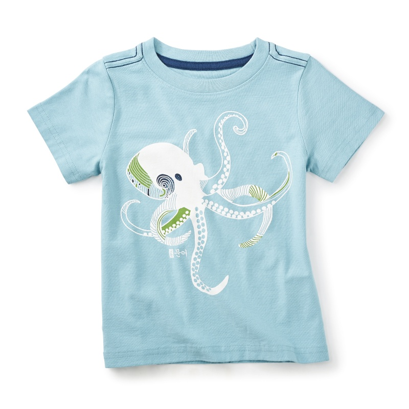 East Sea Squid Graphic Tee