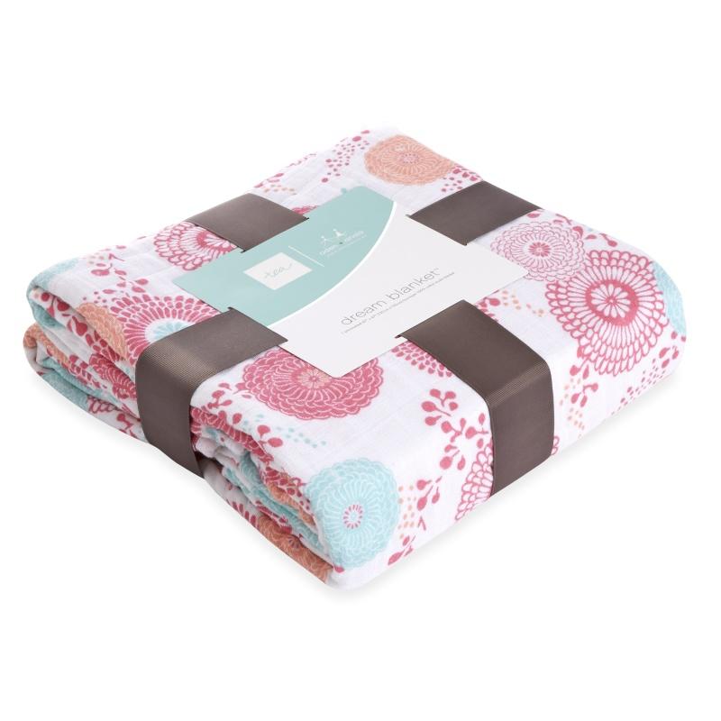 tea x aden + anais Global Garden Dream Blanket