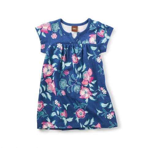 Kyoto Blooms Notch Baby Dress