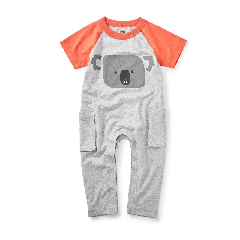 Koala Pocket Romper