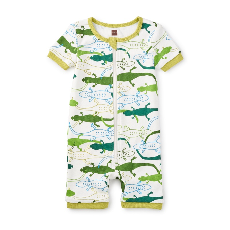 Leapin' Lizards Baby Pajamas