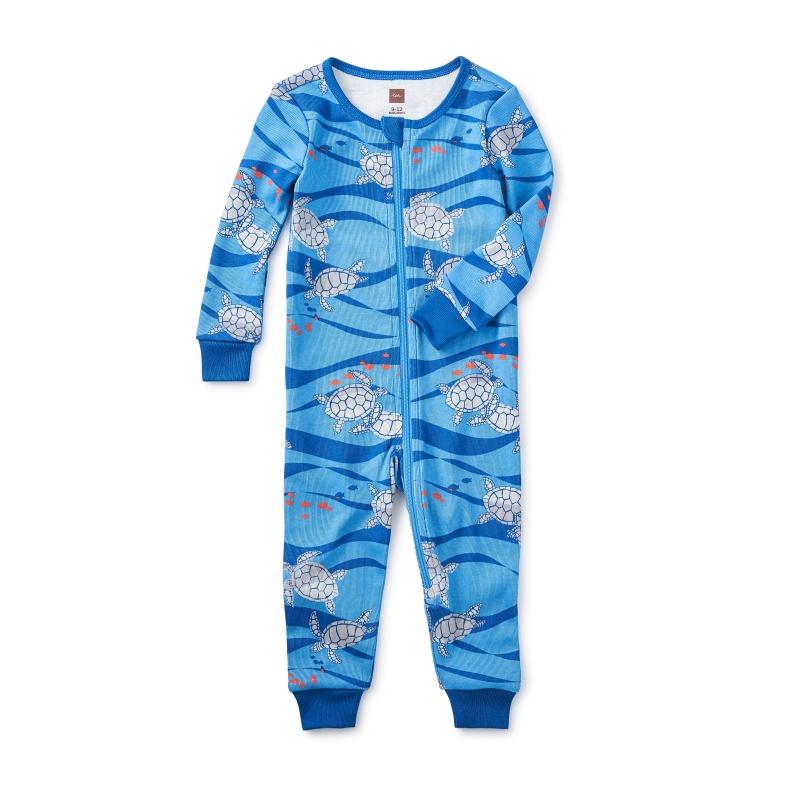 Loggerhead Turtle Baby Pajamas