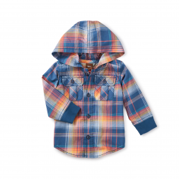 Cooper Button Baby Hoodie
