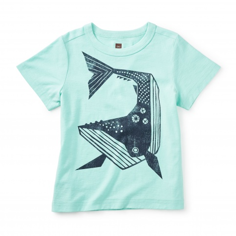 Whale Then Graphic Tee