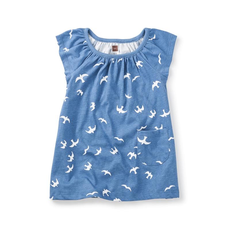 Kookaburra Flutter Baby Dress