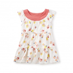 Mulberry Twirl Baby Dress