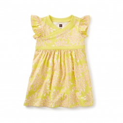 Sadie Wrap Neck Baby Dress