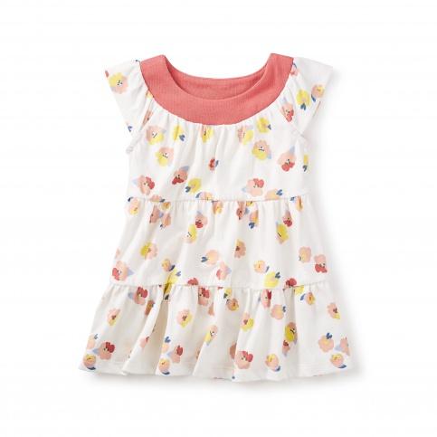 Mulberry Twirl Baby Dress