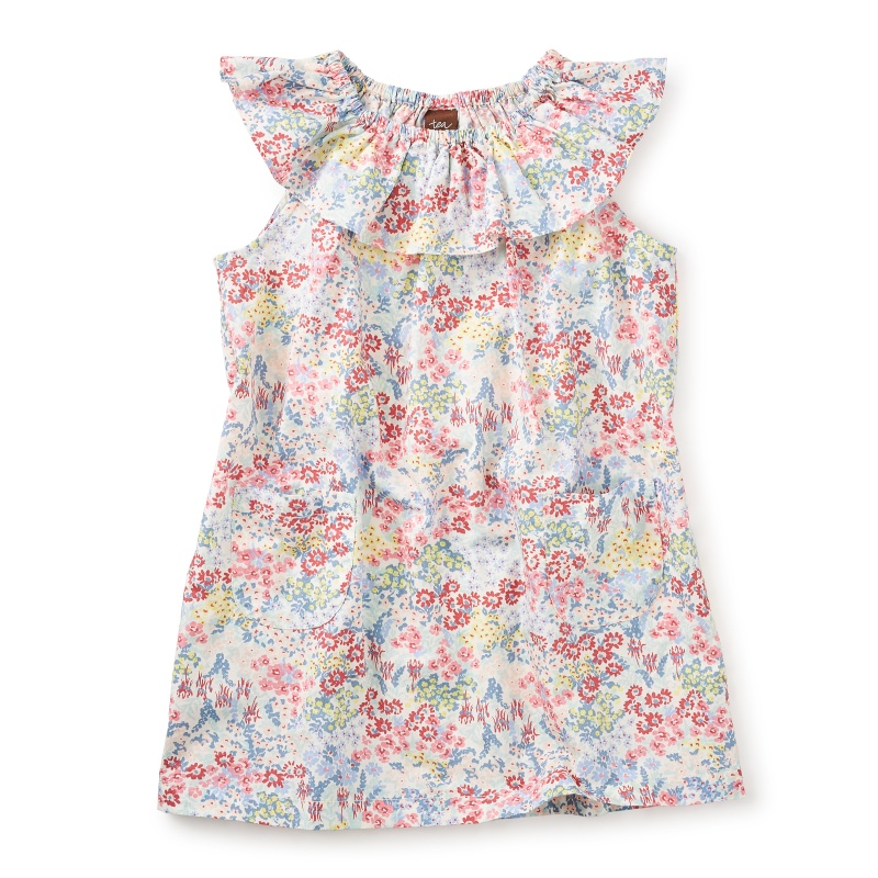 Millie Ruffle Neck Dress
