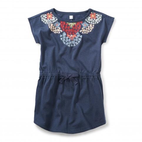Begonia Tie-Waist Dress