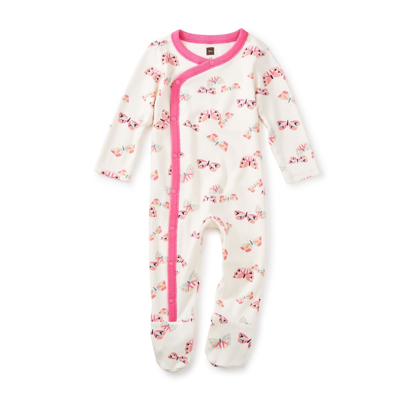 Flutterby Footed Romper