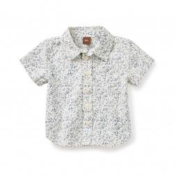 Birdsville Buttoned Baby Shirt