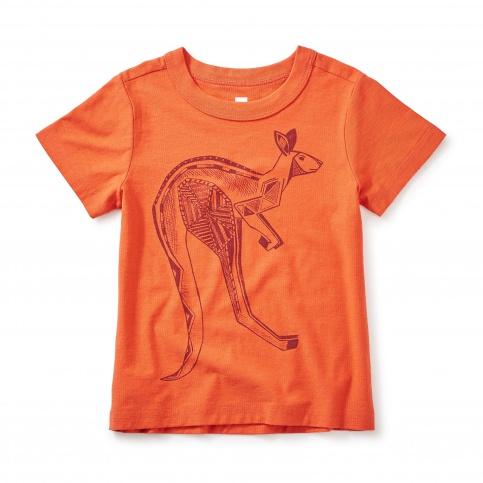 Kangaroo Graphic Tee